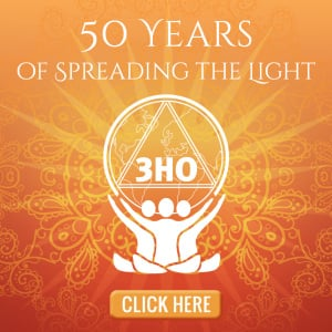 3HO 50th Anniversary